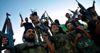 Photo of members of the Free Syrian Army: AP Images